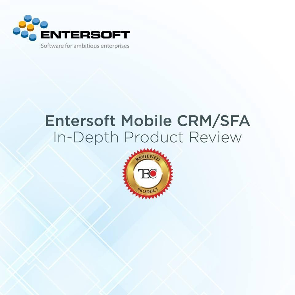 Entersoft SFA Review by TEC